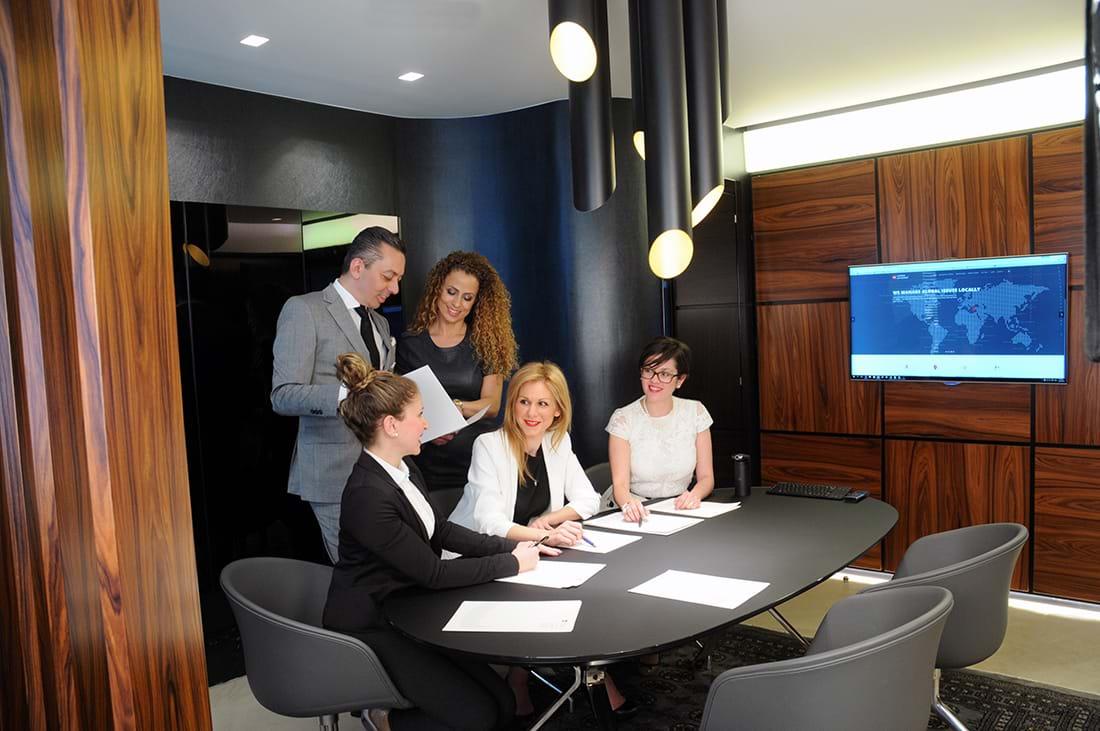 Amoiridis Law Services Meeting Room